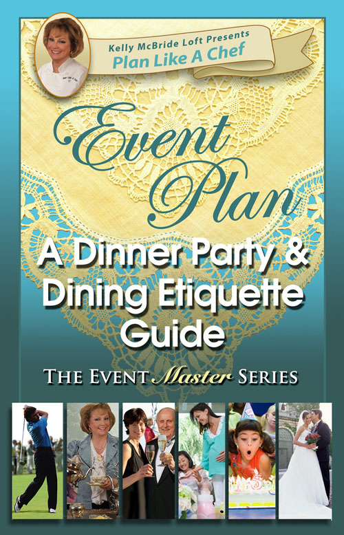event planning, dinner party, dining etiquette, entertaining, recipes